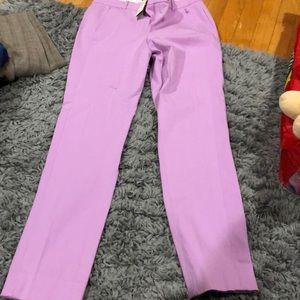 Pants - Jcrew pants lilac 4 nwt Maddie
